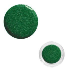 Colore Acrilico Glitterato Verde 2,5g