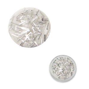 Confetti Acryl Argento 2,5g