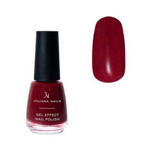 Juliana Nails Smalto Effetto Gel 18ml – gipsy red