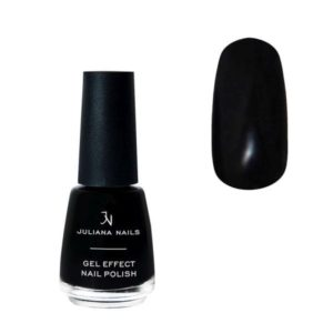 Juliana Nails Smalto Effetto Gel 18ml – black velvet