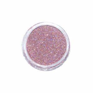 Nail Art Glitter Extra Fine Hologramm Rosa Antico