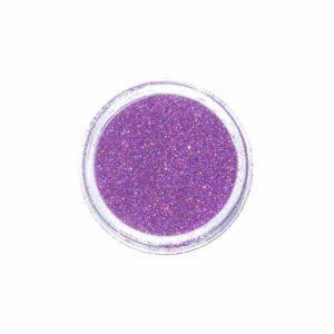 Nail Art Glitter Extra Fine Hologramm Fucsia