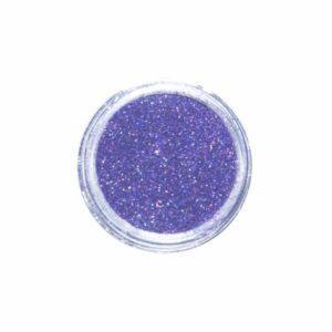 Nail Art Glitter Extra Fine Lilla Hologramm