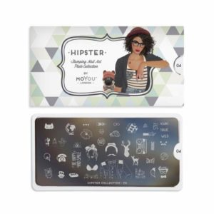Stamping Schablone MoYou Hipster 04