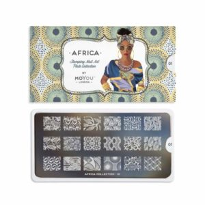 Stamping Schablone MoYou Africa 01