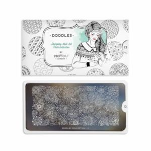 Stamping Schablone MoYou Doodles 13