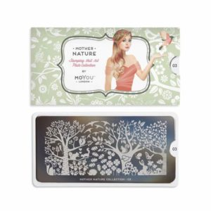 Stamping Schablone MoYou Mother Nature 03