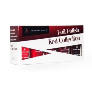 "Smalti Juliana Nails ""Red Collection"" 5x7ml"