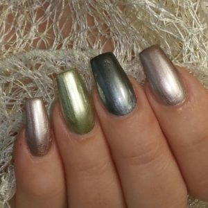 Smalto Chrome Juliana Nails 12ml – metallic queen