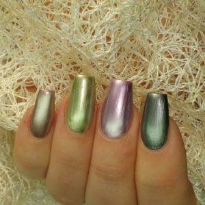 Smalto Chrome Juliana Nails 12ml – jungle gold