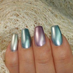 Smalto Chrome Juliana Nails 12ml – blue galaxy