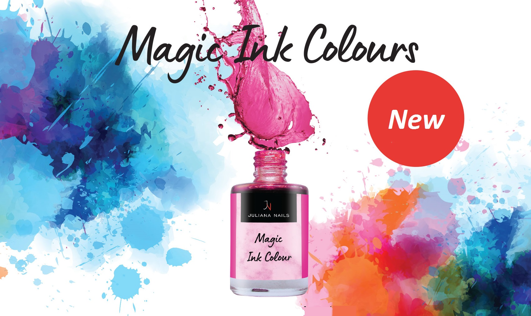 Read more about the article Nuova Tendenza Nail Art…Magic Ink Color !!