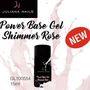 Power Base Gel Shimmer Rose 15ml.