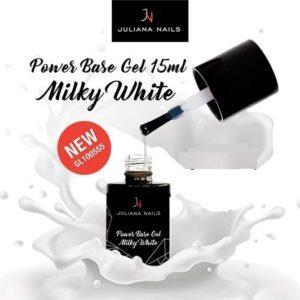 Power Base Gel Milky White  15ml.
