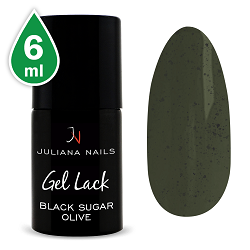 Smalto Gel Black Sugar Olive 6ml