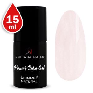 Power Base Gel Shimmer Natural 15ml