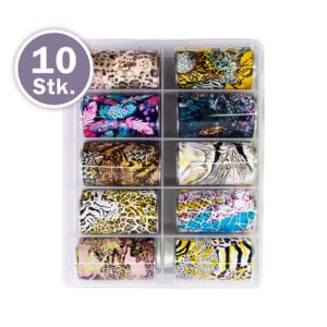 Transferfolien Box – Wild Animals