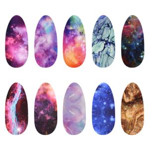 Transferfolien Box – Marbled Galaxy