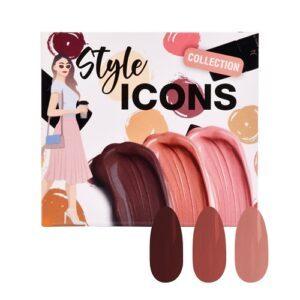 Collezione Smalti gel – Style Icons 3pz. x 6ml.